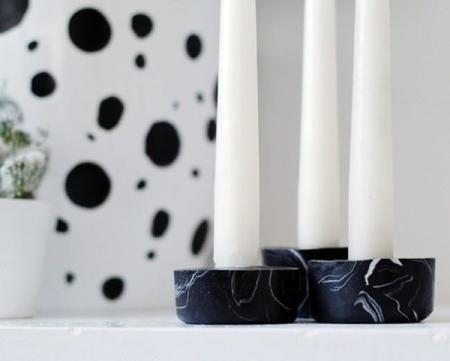650 1000 Black Marble Candle Holder Close Up 500x402 Copia