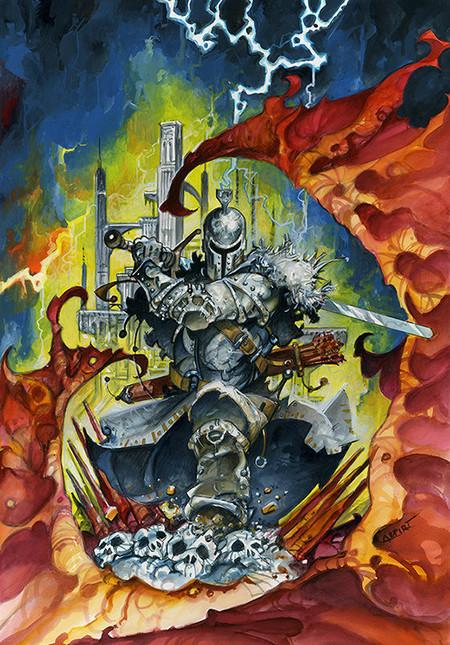 Alfonso Azpiri y Dark Souls II