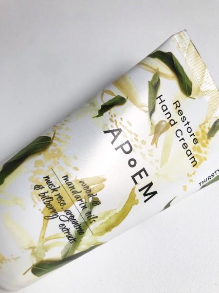 Restore hand cream apoem