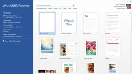Office 2013 RT para noviembre, y empiezan a aparecer rumores del programa de actualización a Office 2013