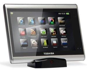Toshiba también habla de sus tabletas y se anima con Windows 7