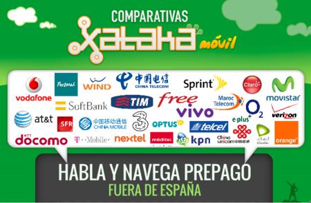 ¿Viajas fuera de España? Las mejores tarifas prepago para hablar y navegar en el extranjero