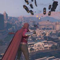 Este divertido mod de GTA V nos permite liarla parda en Los Santos con los poderes de Magneto