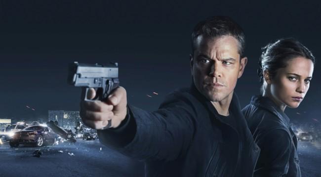 Matt Damon y Alicia Vikander en Jason Bourne