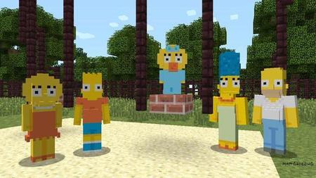 Los Simpsons llegarán a Minecraft