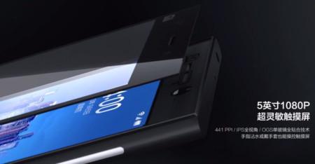 Xiaomi Mi3 pantalla