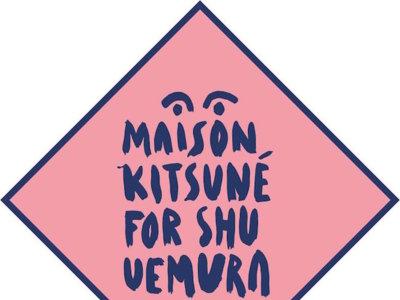 Shu Uemura x Maison Kitsuné. Se avecina nueva colaboración