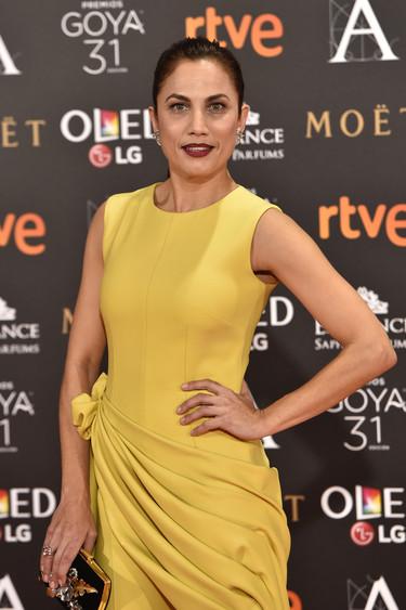 Toni Acosta premio al look más original en los Premios Goya 2017