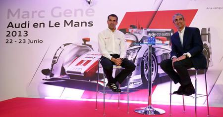 Marc Gené, preparado para las 24 horas de Le Mans