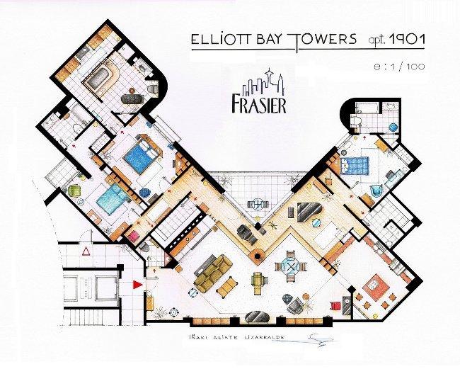 Apartamento de Frasier Crane