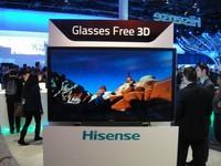 Hisense  muestra sus teles 3D sin gafas en el CES