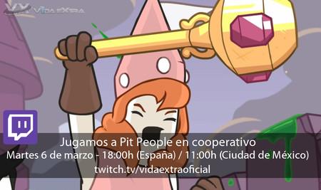 Streaming de Pit People en cooperativo a las 18:00h (las 11:00h en CDMX) [finalizado]