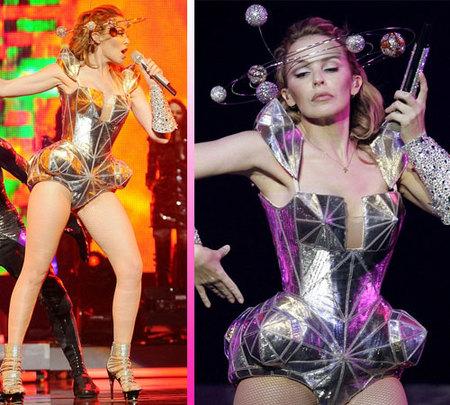 Kylie Minogue a lo Lady Gaga