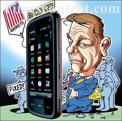 Nokia necesita un cambio importante y busca un nuevo CEO