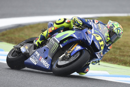 """Valentino Rossi: """"Me siento bien tras la caída de Japón, sólo un poco dolorido"""""""