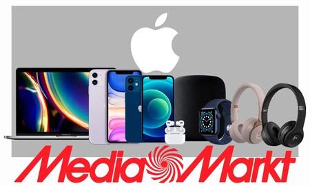 Apple Hours en MediaMarkt: ahorra algo de dinero en MacBook, iPhone, Apple Watch, HomePod o auriculares AirPods Pro y Beats