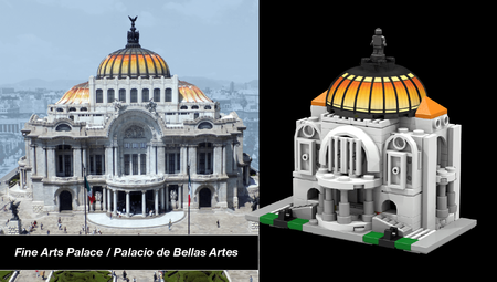 Bellas Artes Lego