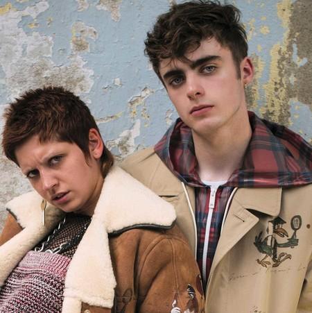 Lennon Gallagher se anota otra portada y nos da un adelanto de la nueva colección de Burberry