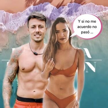 'La Última Tentación': Así fue el rollete veraniego entre Cristian y Lucía tras pasar por 'La Isla de las Tentaciones'