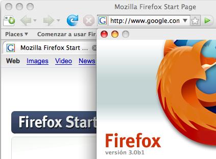 Algunos apuntes sobre Firefox 3.0 beta 1