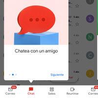 Cómo activar las pestañas de Chat y Salas en la app de Gmail