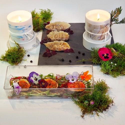 Unas velas perfumadas inspiran a Yo-Kaw Pat para crear dos deliciosos platos