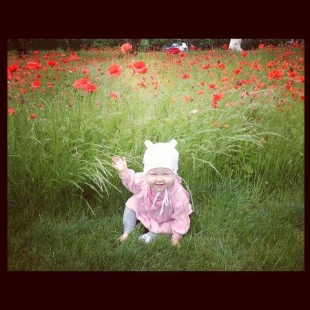 bebé jessica alba