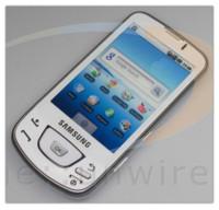 Samsung i7500 Galaxy, también en blanco
