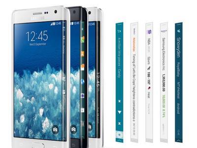 Una pantalla con tres caras para el nuevo Samsung Galaxy S, según Bloomberg