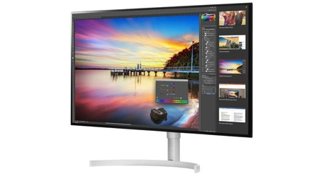 LG se adelanta al CES 2018 presentando sus nuevos monitores 4K de 32 pulgadas