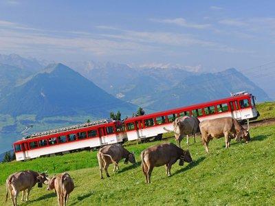 El tren cremallera más antiguo de Europa