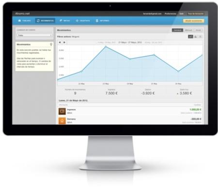 Ahorro.net, portal español para gestionar y controlar nuestros ahorros