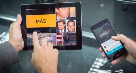 Touchvie, así es como desde España quieren hacer la app definitiva para usar viendo la tele