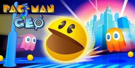 Pac-Man Geo, el juego con el que comeréis fantasmas por todo el mundo, ya está disponible para descargar en iOS y Android