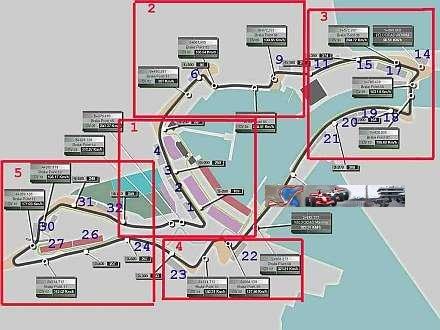 Ya tenemos el plano de las tribunas del Circuito de Valencia