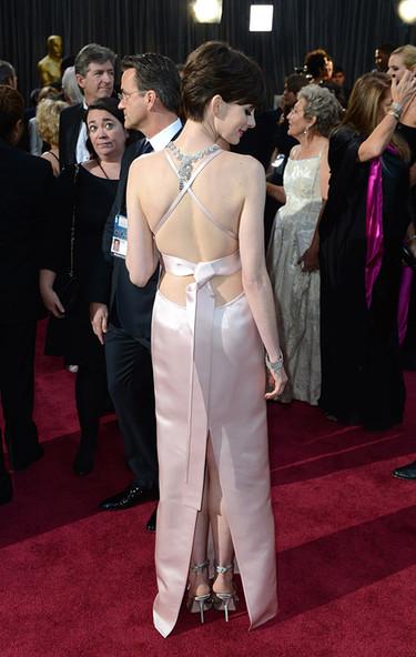 Oscar 2013, hay vida en los zapatos y las sandalias debajo de los grandes vestidos de fiesta