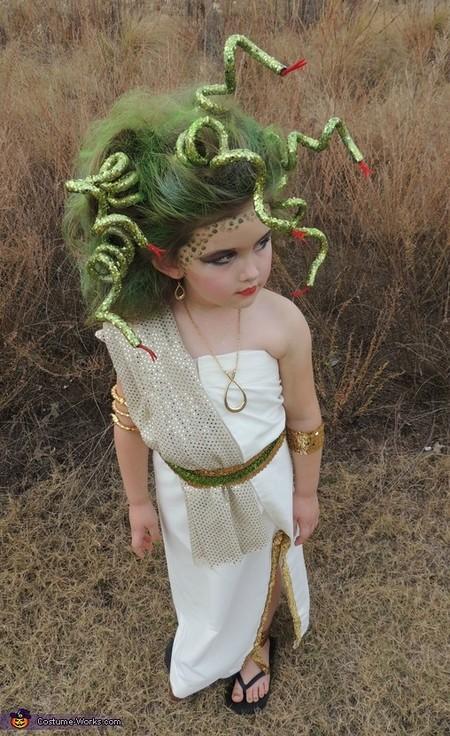 Disfraz Halloween Facil Barato Medusa