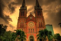La Catedral de Notre Dame de Ho Chi Minh City