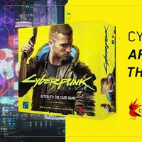 Cyberpunk 2077 se pasará a los juegos de cartas en 2020 con Afterlife: The Card Game