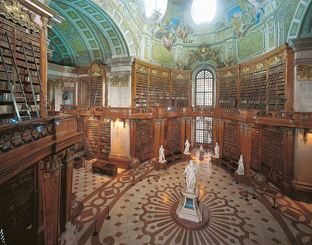 Austrian National Library Vienna Austria