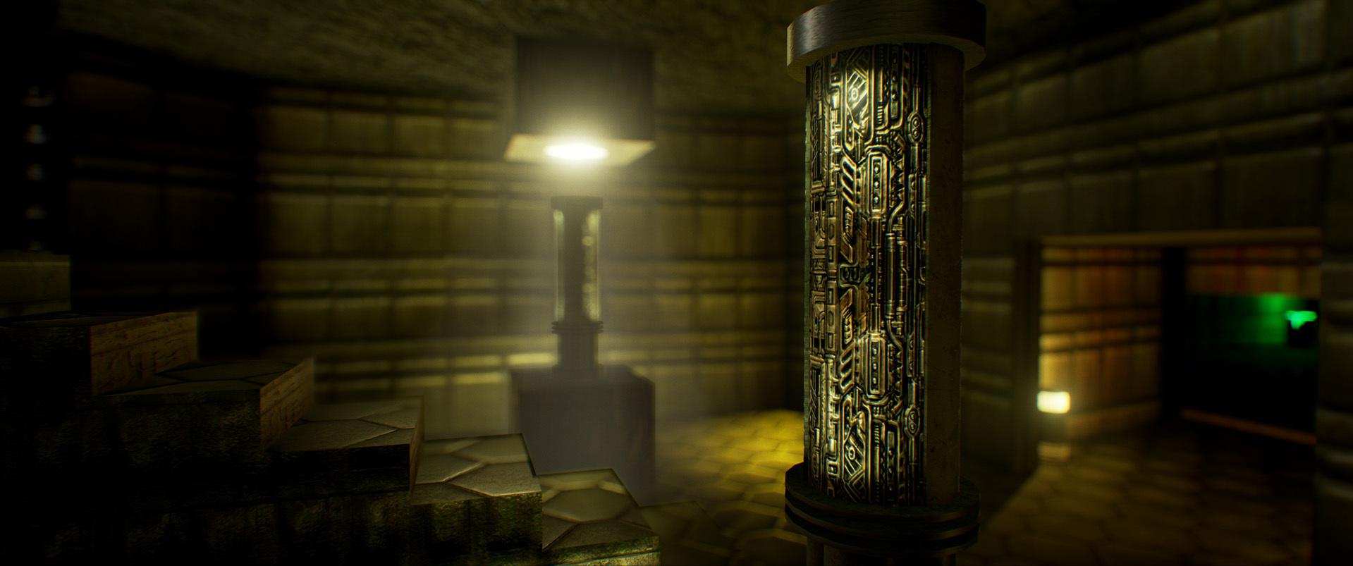 Foto de Nivel E1M1 de Doom en Unreal Engine (9/13)