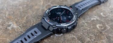 Amazfit T-Rex Pro, análisis: este smartwatch es como llevar una roca llena de tecnología en la muñeca