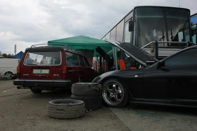Volvo 245 DL con motor de Toyota Supra