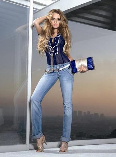 Lindsay Lohan para Fornarina primavera-verano 2009