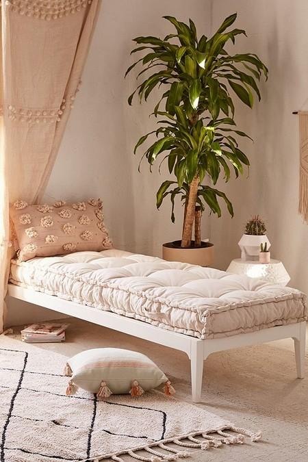 Colchonetas o cojines de suelo para ayudarte este verano a crear tu ambiente chill out o montar una cama improvisada para los invitados