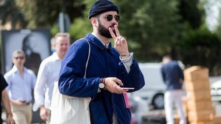 Beanie + bufanda: el combo que triunfa en el mejor street style de la semana este invierno