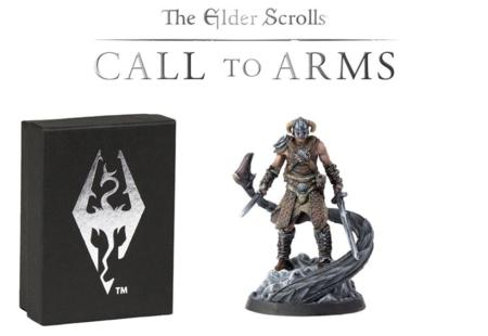 Anunciado el juego de mesa The Elder Scrolls: Call to Arms. El primero de sus sets se basará en Skyrim