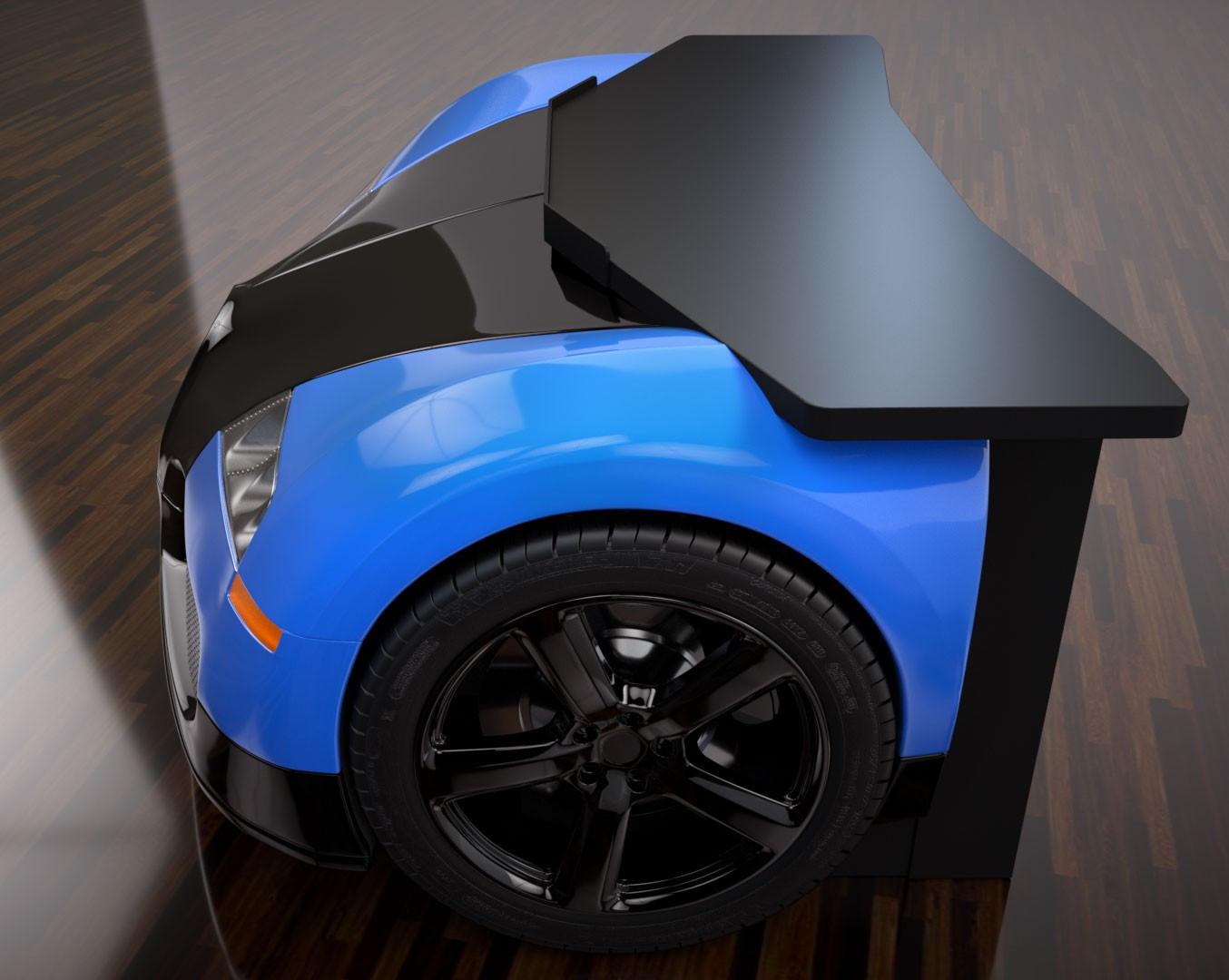 Foto de Mesa de escritorio Bugatti Veyron (3/4)