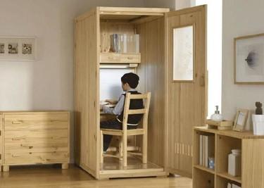 La cabina para estudiar