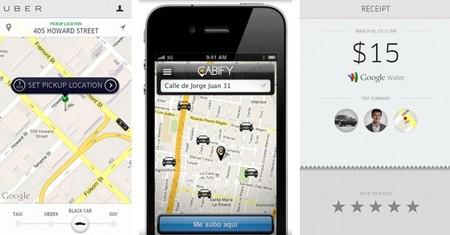 Uber y Cabify, plataformas de servicios de coche con chófer